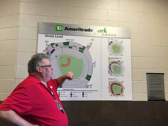 TD Ameritrade Park : Beginning of the tour