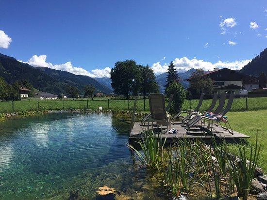 Maishofen, Austria: Schwimmteich