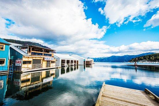 Idaho: Bayview, Lake Pend Oreille Marina