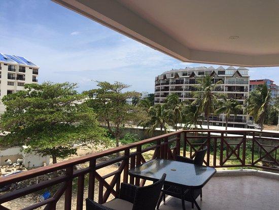 Hotel Arena Blanca: Balcón de la habitación