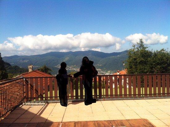 Carenno, Italie : Panorama dal terrazzo