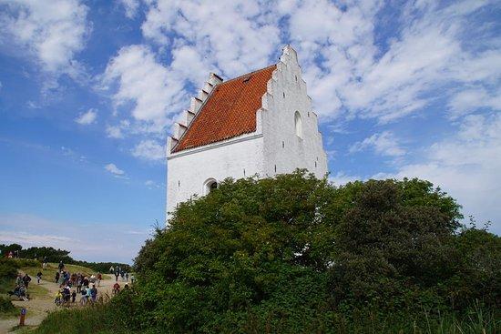 Jutland, Danimarca: Den tilsandede kirke