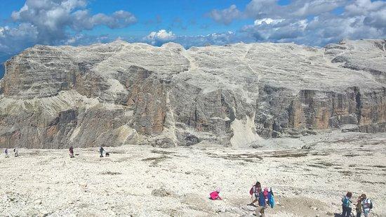 Panorama Sass Pordoi Picture Of La Terrazza Delle Dolomiti