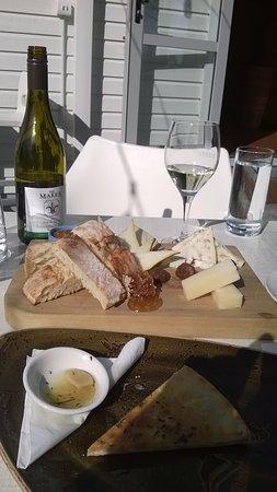 Papamoa, Nya Zeeland: cheese board
