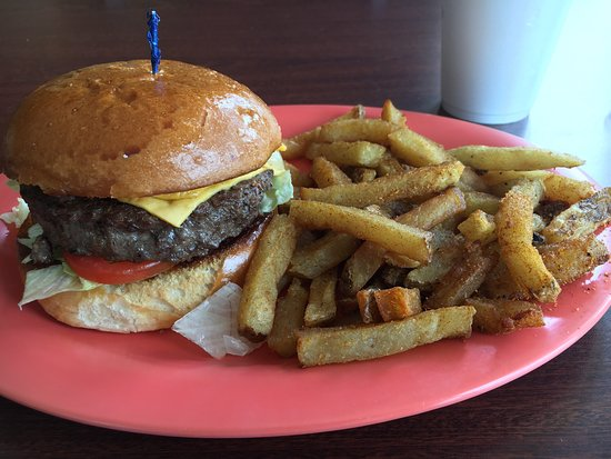Double patty mushroom burger - Picture of Simply Burgers, Fort Worth ...