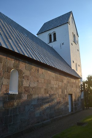 Loegstrup, Denmark: the north side with the west tower