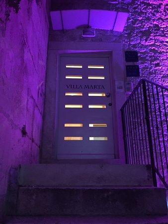 Villa Marta : Entrance