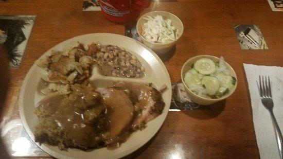 Foley, Αλαμπάμα: pork loin dinner
