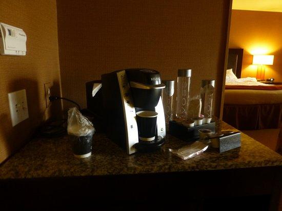 Marina del Rey, Kalifornien: Cafetera