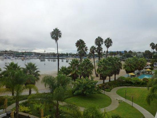 Marina del Rey, Kalifornien: Desde el balcón