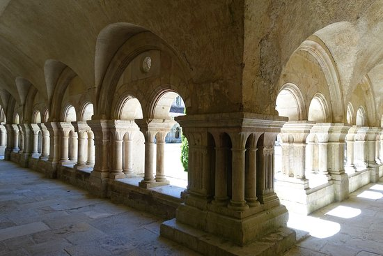 Montbard, France: Cloister ambulatory