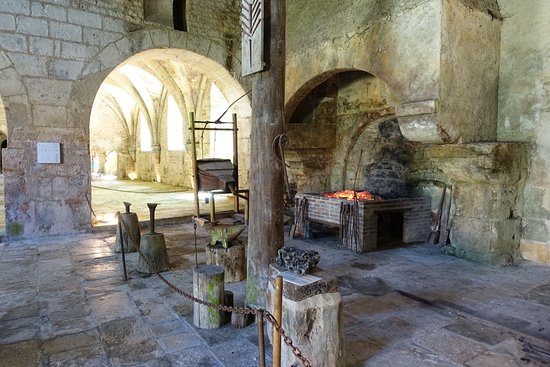 Montbard, France: The forge