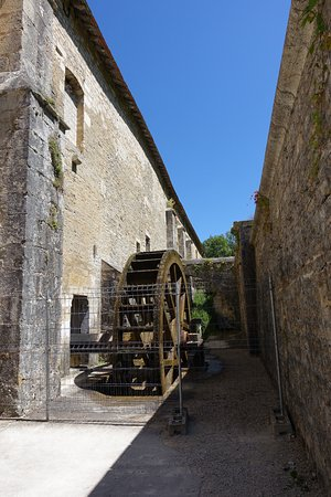 Montbard, France: Water mill for the forge