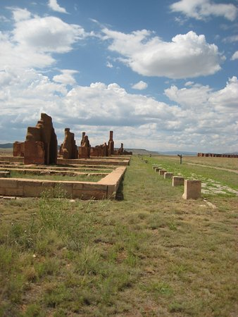 Watrous, NM: officer's row