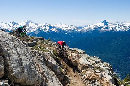 Whistler, Canada: Top of the World Trail in Whistle Photo by Mike Crane