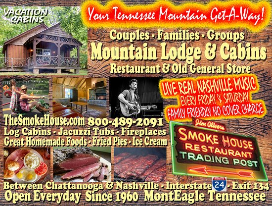 Monteagle, TN: Your Mountain Vacation Getaway for Couples and Families.