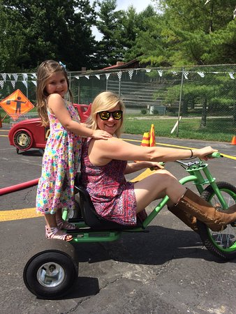 Monteagle, TN: Bring the family and ride our pedal car track, big wheel trikes for adults
