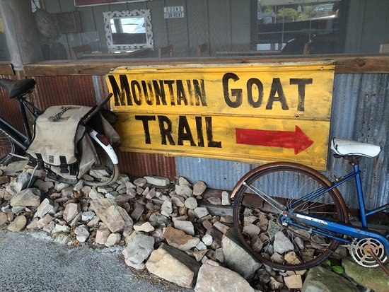 Mountain Goat Trail is a 5 mile paved easy bike ride or hike between Monteagle and Sewanee.