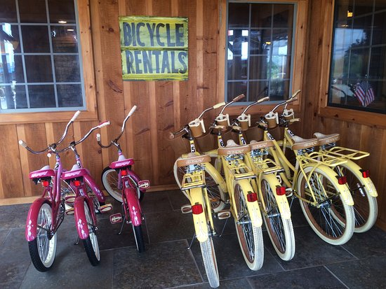 Monteagle, TN: Bike Rentals for adults and children, Mountain Goat Trail greenway connects to the property.
