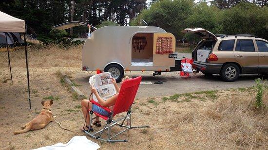 แคปิโตลา, แคลิฟอร์เนีย: Typical camp site