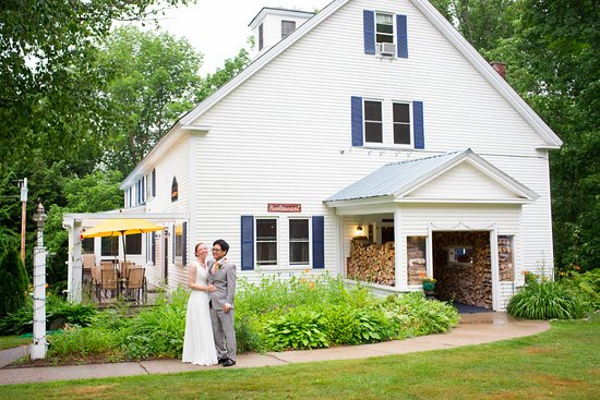 Bethel, ME: The Inn is perfect backdrop for wedding photo ops.