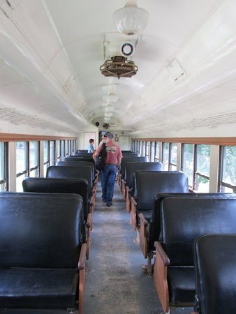 "Connersville, IN: Inside ""The Whitewater Valley Flyer"" - at about 15 MPH!"