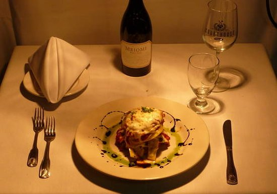 The Courthouse Grille Restaurant: Eggplant