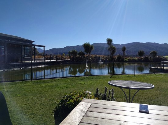 Marlborough Region, Nueva Zelanda: The Vines Village Cafe