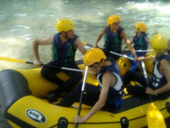 Vallo di Nera, Italien: Nomad Rafting