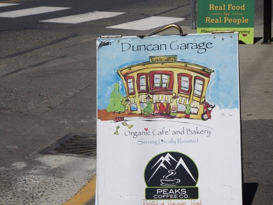 Duncan Garage Cafe in Duncan Vancouver Island
