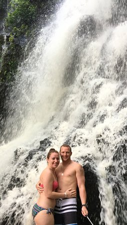 Get Lost In Costa Rica: one of the three waterfalls
