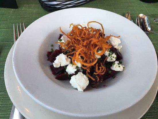 Simsbury, CT: Beet salad