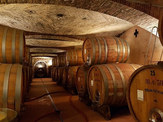 Fontanafredda: Nice to see the storing of the wine.