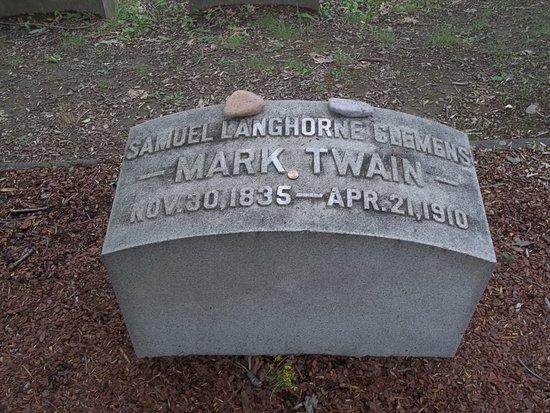 Elmira, NY: Mark Twain's Grave