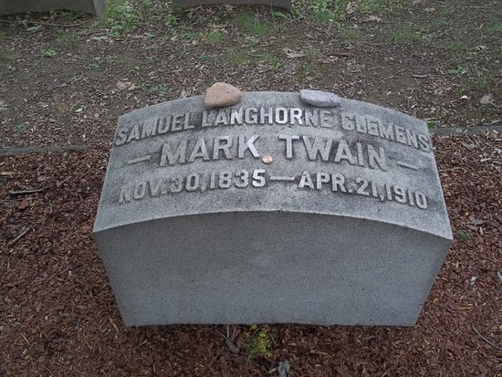Mark Twain's Grave