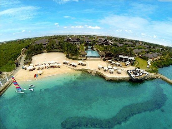 Crimson Resort and Spa, Mactan: Aerial view