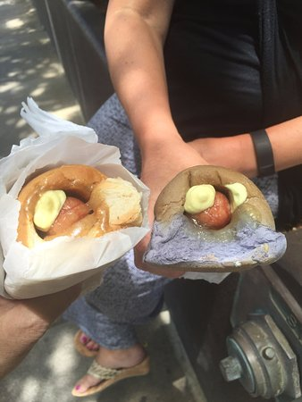 Hula Dog Hawaiian Style Hot Dogs : Interesting Look