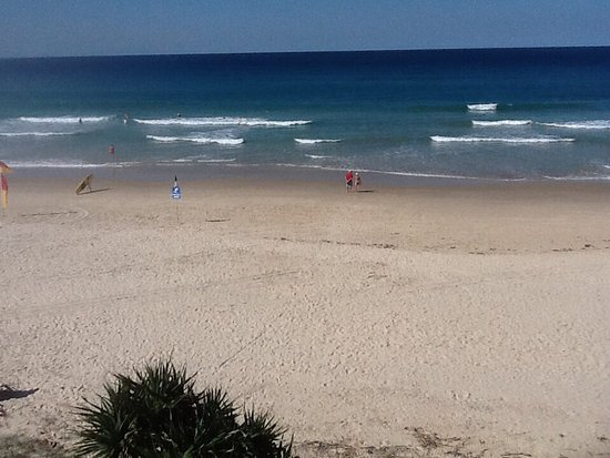Coolum Beach, Australia: View from dinning area