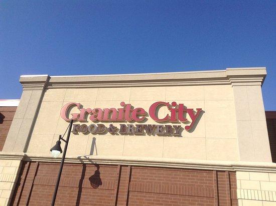 Granite City Food Brewery Olathe Ks