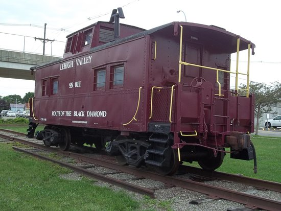 Sayre, PA: Caboose on the Grounds