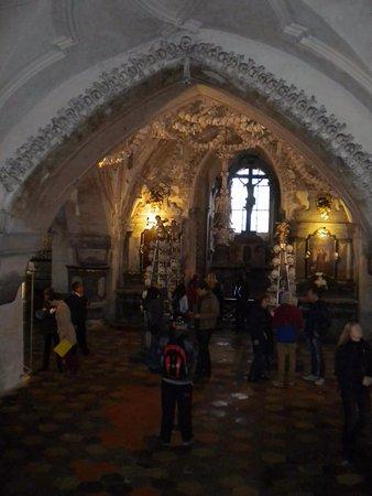 Седлец, Чехия: Vista general desde las escaleras de ingreso