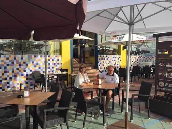 Don Agustin: restaurante onde foi o café