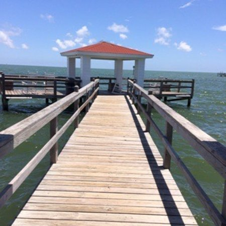 Lighthouse Inn at Aransas Bay: Wonderful relaxing location.