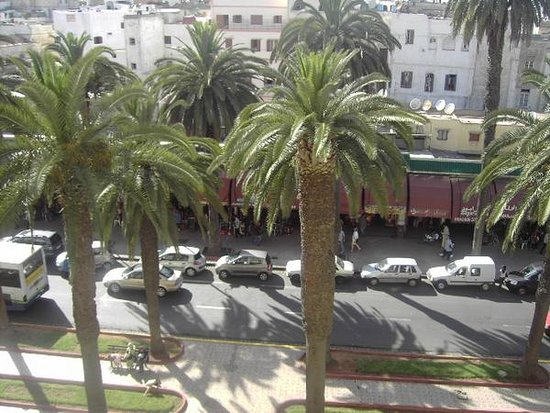 Hotel Plaza Casablanca : View from our balcony.