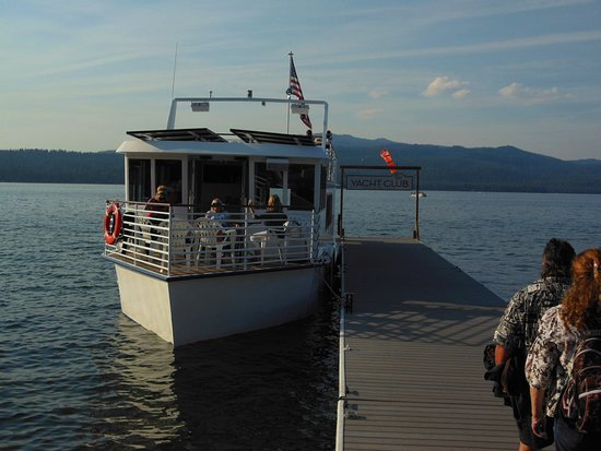 Payette Lake Scenic Cruises: Your 65' 2 level travel M/V