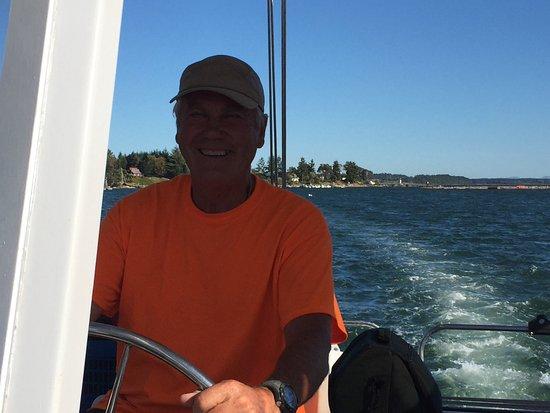Nanaimo, Canada: Captain Hans