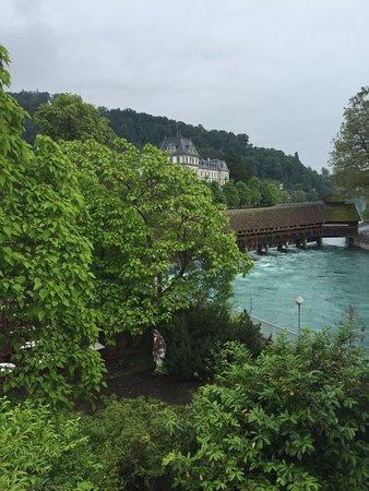 Hotel Freienhof: View from balcony