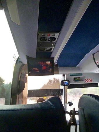 Hanover, Nueva Hampshire: Interior of the Dartmouth Coach to Boston