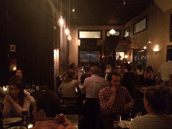 Bella Trattoria: inside the restaurant