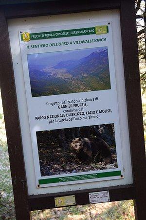 Villavallelonga, Italy: l'inizio del sentiero